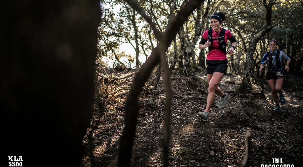 Judit Franch i Clàudia Roca guanyen la marató per equips al Trail Rocacorba