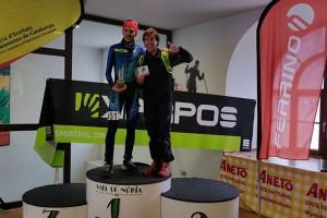 El berguedà Ferran Canudas, campió sub-23 de la CronoNúria i la Copa Catalana de Verticals