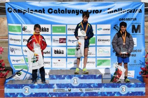 L'atleta del JAB Biel Vázquez, campió de Catalunya de cros