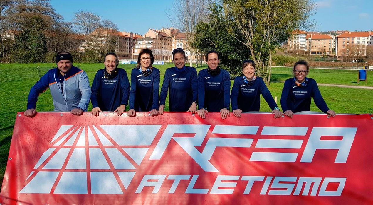 Objectiu complert: el femení del JAB, entre els 20 millors equips d'Espanya de cros curt
