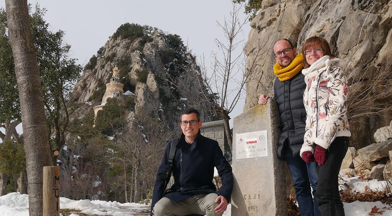 Presenten a Queralt la Pyrenees Bike Race, la primera travessa en BTT pel Camí dels Bons Homes