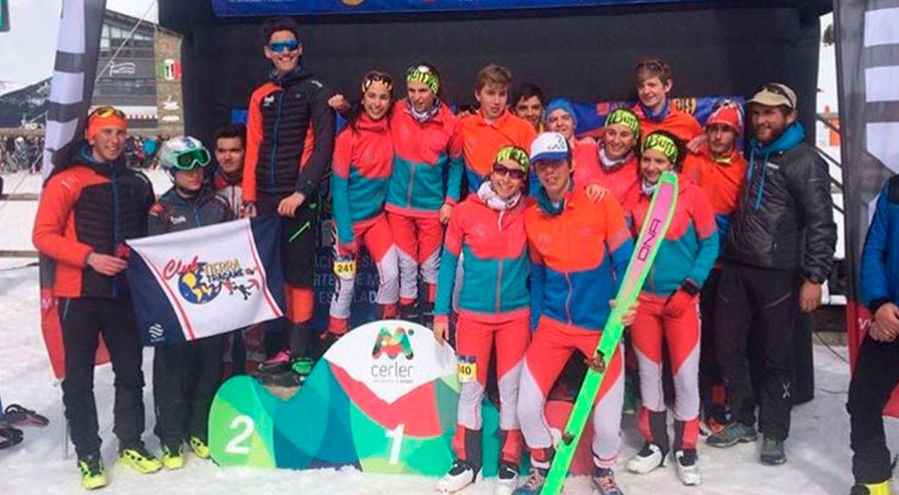 Els joves dels Mountain Runners s'emporten el campionat d'Espanya de clubs