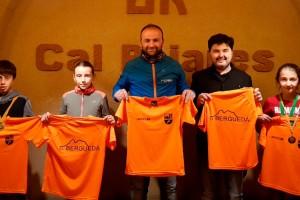 Uns 40 nens i nenes del Berguedà es classifiquen per a la final del Campionat de Catalunya de cros