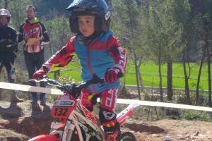 Grau Franch manté la segona posició a la Copa Catalana de Trial de Nens
