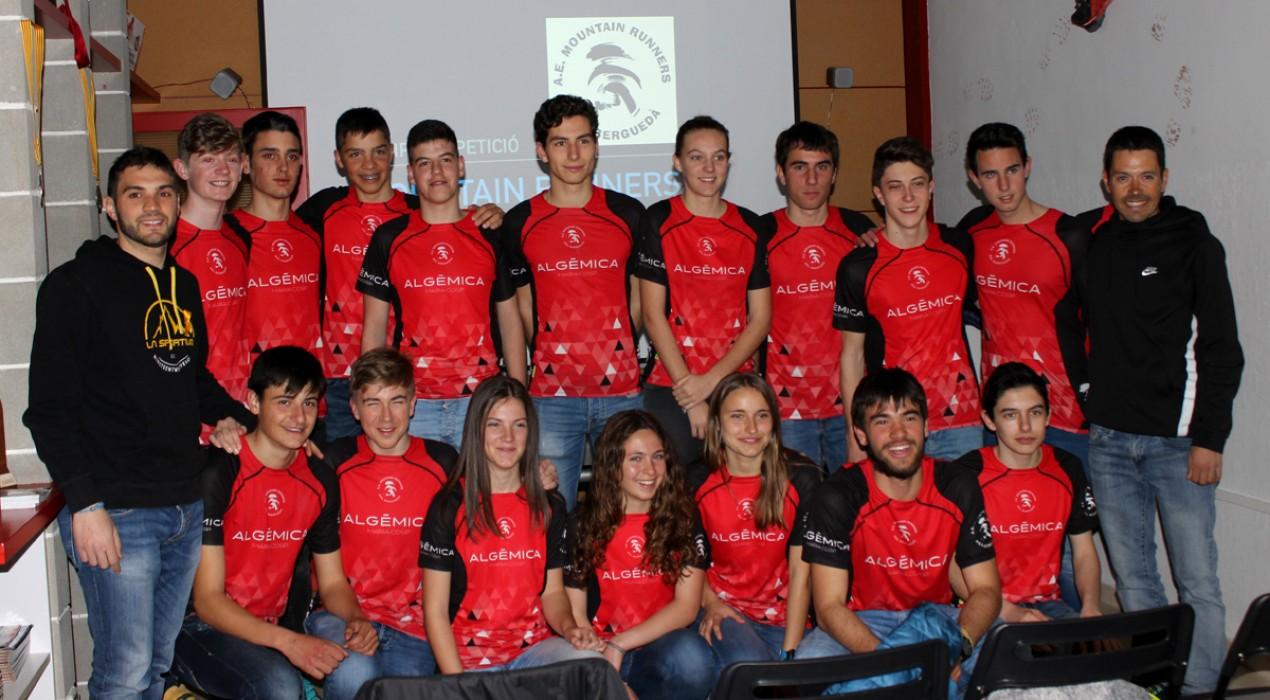 Els Mountain Runners posen en marxa els equips de competició de trail Cadet i Júnior