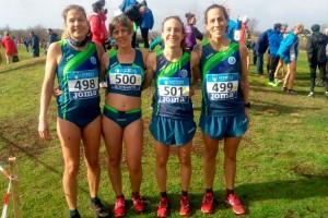 El femení del JAB aconsegueix el bronze al campionat d'Espanya de cros màster