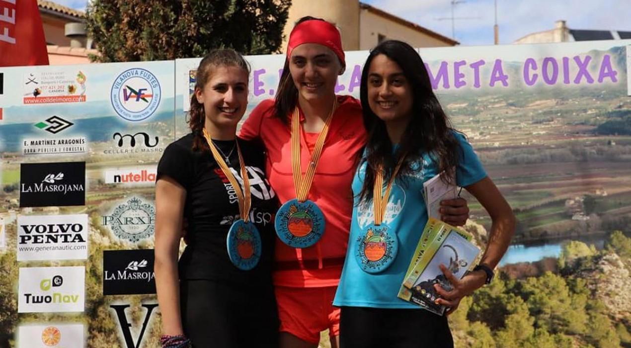 L'avianesa Maria Beringues guanya el campionat de Catalunya de curses de muntanya júnior