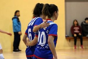 Bateig oficial dolç del femení 'B' del FS Casserres (4-1)