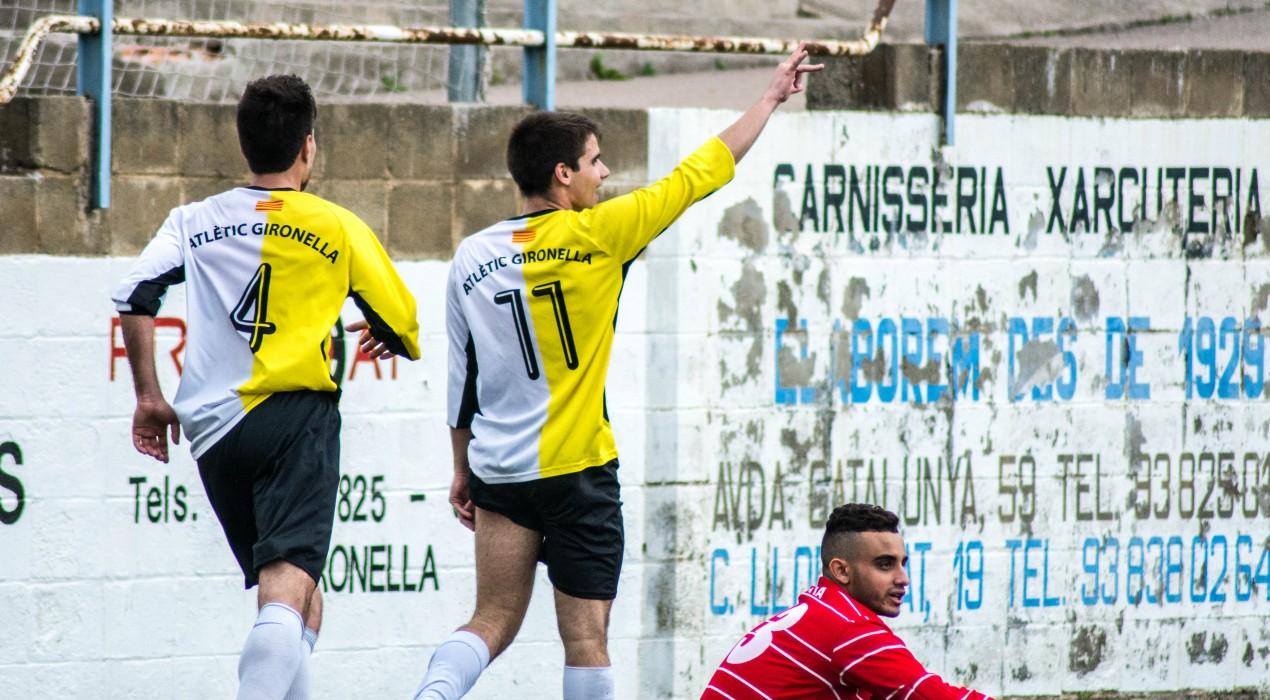 El Gironella s'emporta l'últim derbi comarcal de la temporada i manté les esperances per a salvar-se (4-2)