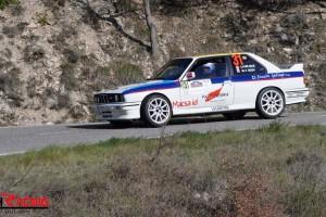 Lluís Mas i Manel Fernández enceten el campionat de Catalunya de ral·lis amb una brillant segona posició