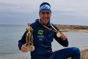 El berguedà Xavi Tomasa, campió de Catalunya de Marató