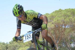 Cristofer Bosque, subcampió de Catalunya de BTT