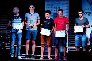 Clàudia Sabata i Toni Baños, reconeguts com millors esportistes de la temporada a la Nit de l'Esport Berguedà