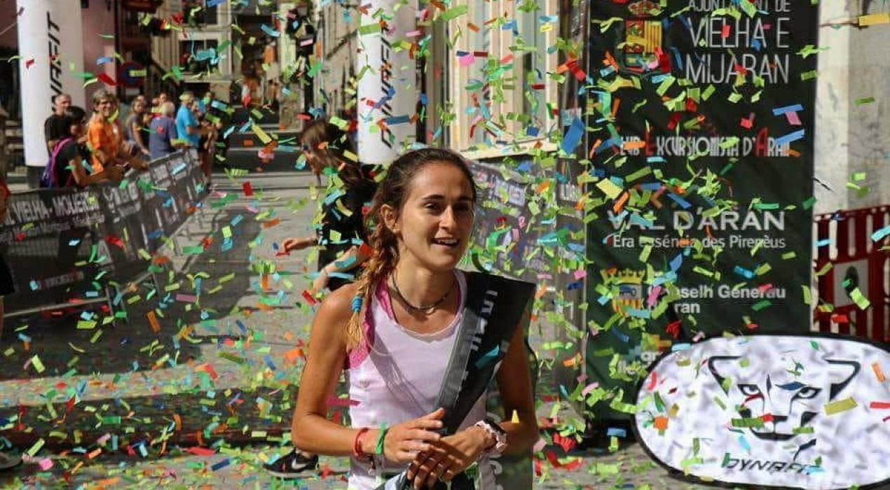 Ot Ferrer i Clàudia Sabata guanyen la Tuca Trail, la prova curta de la Vielha-Molières