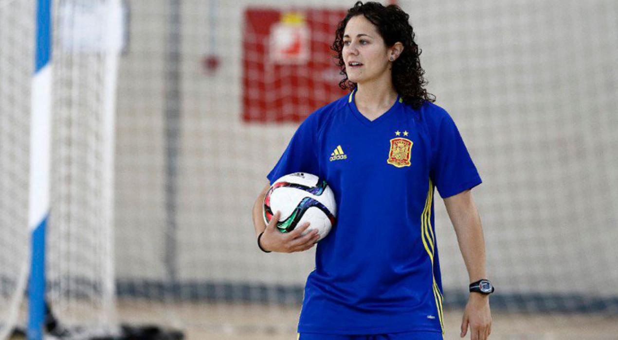Clàudia Pons, nova entrenadora de la selecció espanyola femenina absoluta de futbol sala