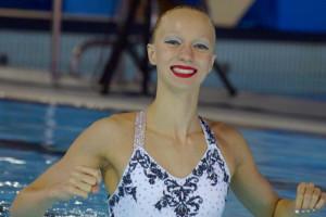 Ariadna Arisó posa punt final a la seva carrera de sincronitzada