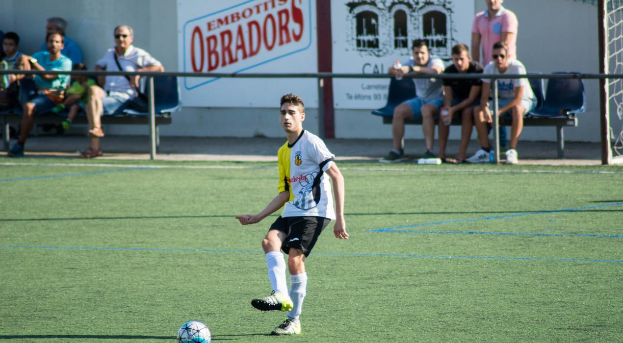 Victòria plàcida de l'Atlètic Gironella en el derbi intercomarcal a Navàs (0-3)