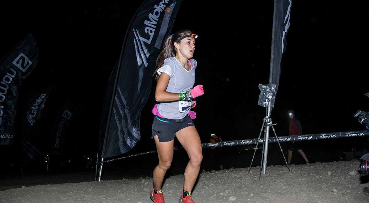 Clàudia Sabata, subcampiona de la Nit Pirineu 2018