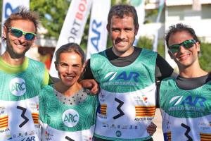 El berguedà David Tarrés frega el podi a l'Adventure Race de Croàcia