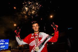 Franc Serra s'endú la medalla de bronze a la Copa del Món de Flat Track a Itàlia
