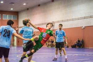 L'Handbol Berga doblega al cuer per aconseguir ser líder en solitari (38-22)