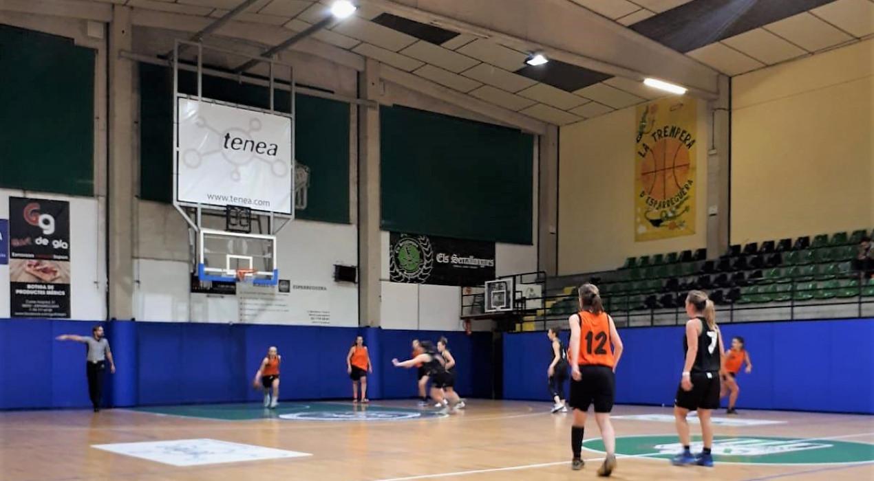 Un Bàsquet Berga femení irregular segueix buscant la primera victòria (50-27)