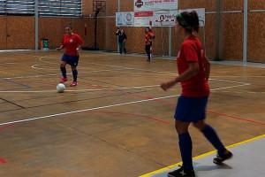 La primera victòria del femení del FS Casserres haurà d'esperar (6-3)