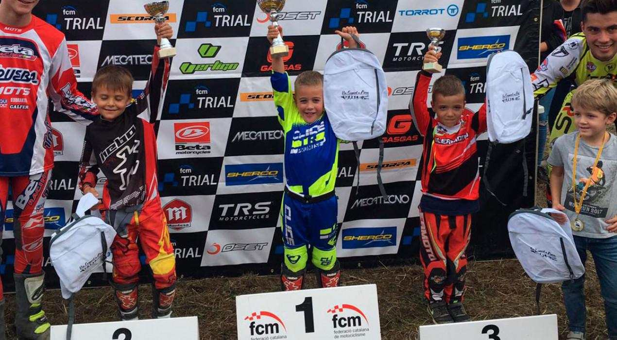 Grau Franch aconsegueix la primera victòria de la temporada amb una actuació impecable a Piera