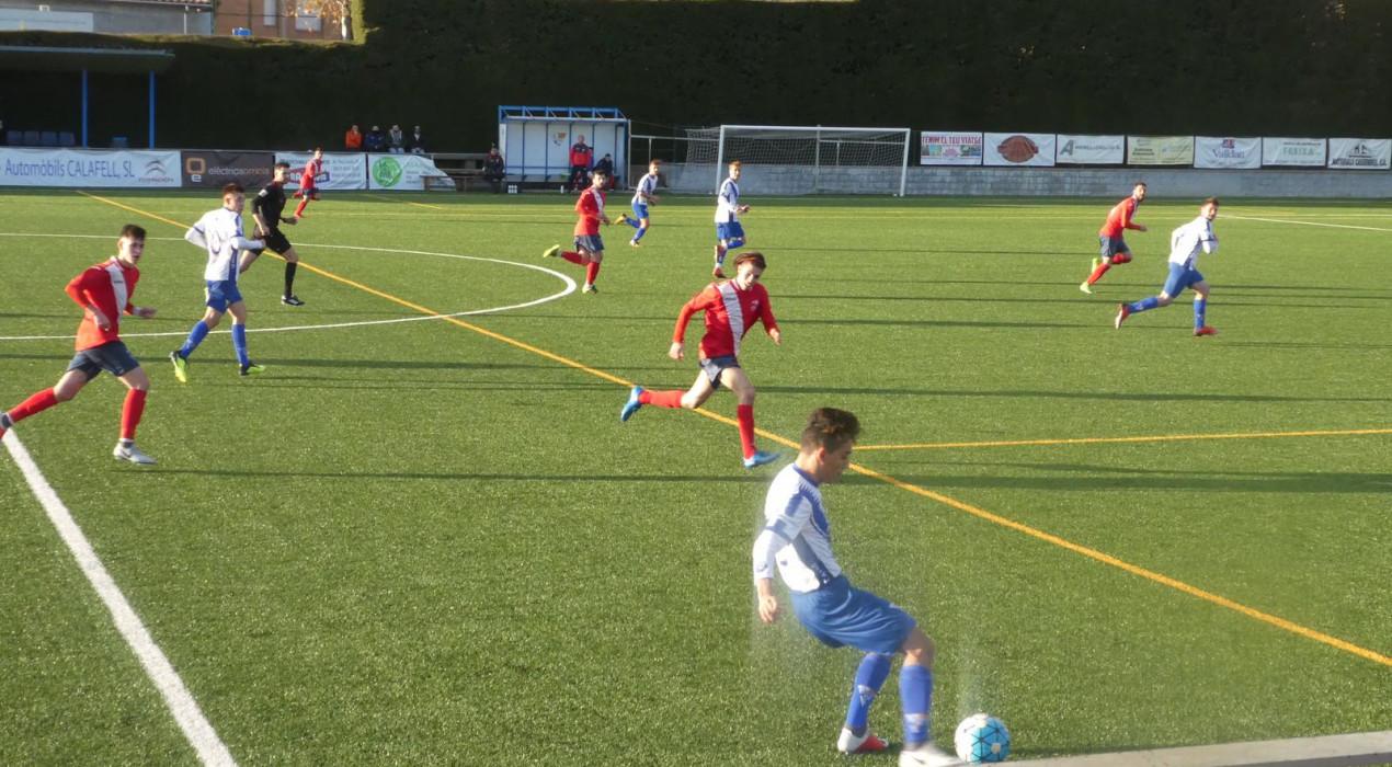 Cinc gols més de l'Avià per consolidar-se a la part alta (5-3)