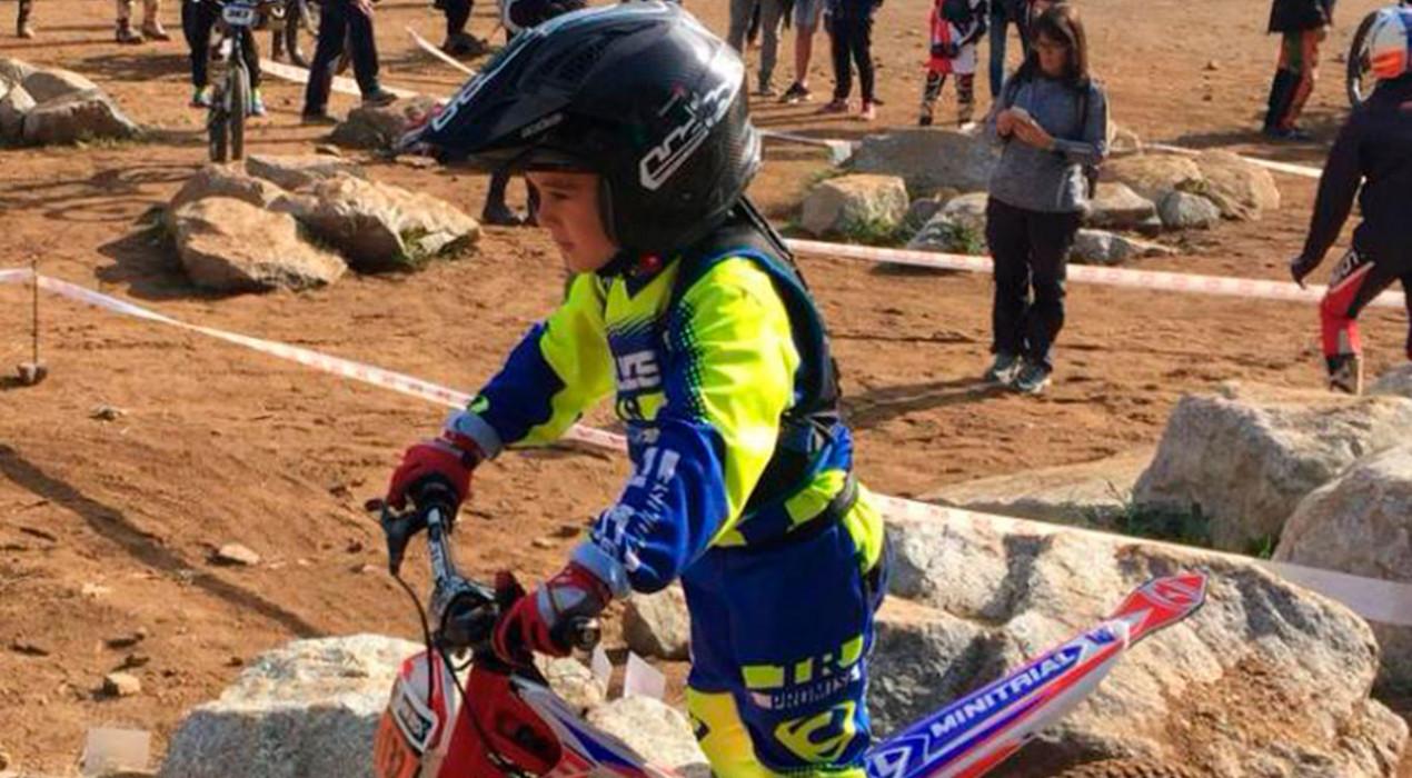 Grau Franch guanya l'última prova de la Copa de Trial de Nens i es proclama subcampió de Catalunya