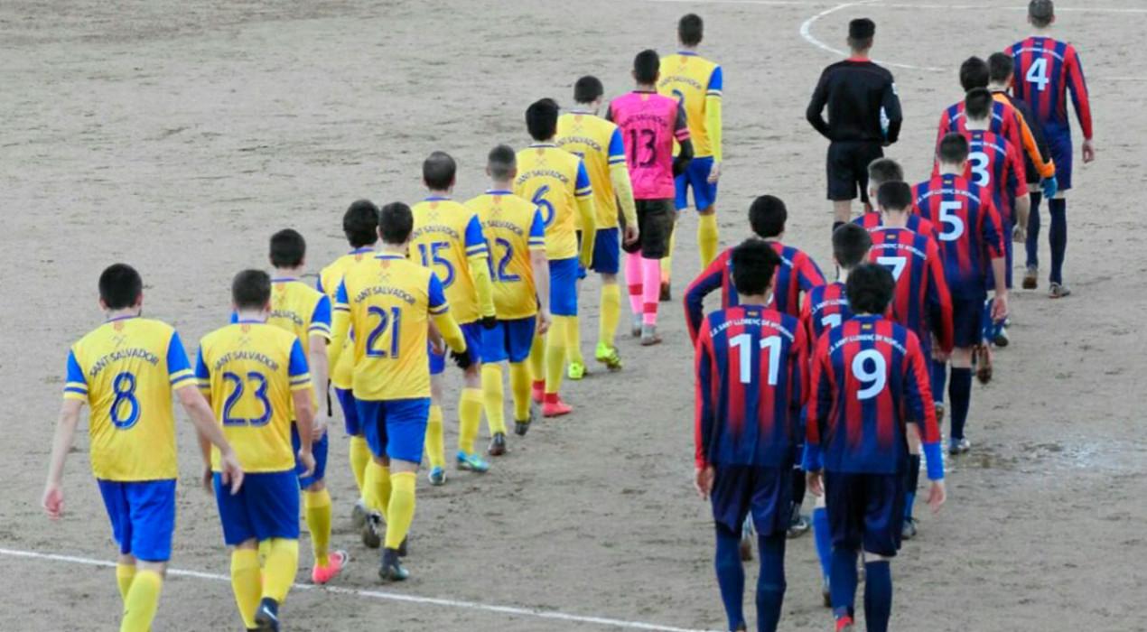 Victòria plàcida del Sant Salvador de Cercs contra el Sant Llorenç (3-0)