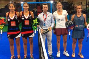 La berguedana Sara Pujals disputa per primera vegada uns quarts de final del circuit mundial de pàdel