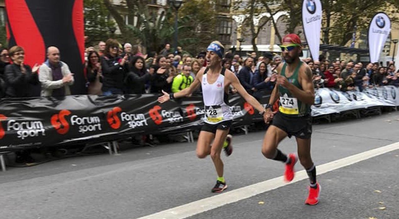 El berguedà Xavi Tomasa arriba sisè a la prestigiosa Behobia – San Sebastián