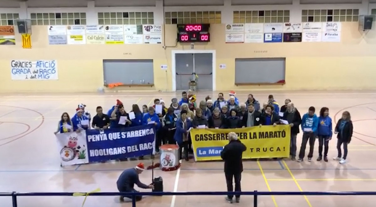Estrenen el nou himne oficial de les entitats esportives de Casserres