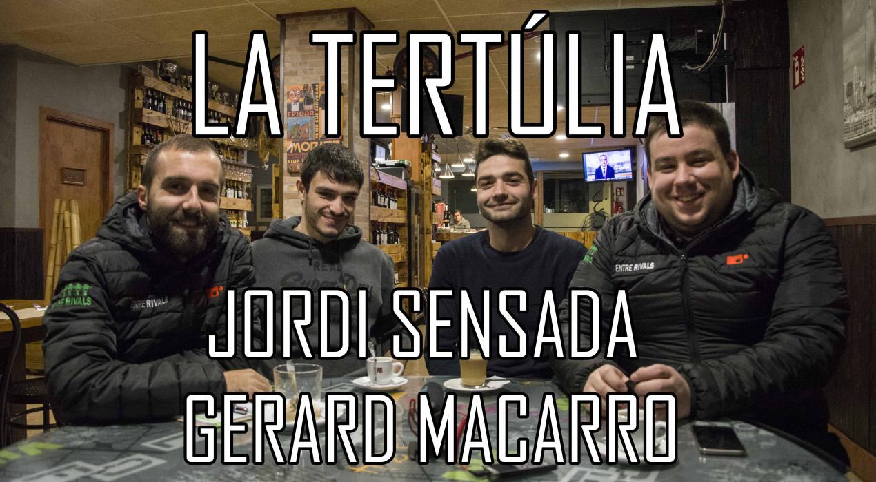 "Jordi Sensada i Gerard Macarro: ""Volem estar a dalt a final de temporada"""