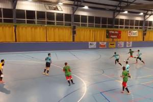 El FS Puig-reig sua per esgarrapar un empat a casa contra el Daina Isard (4-4)