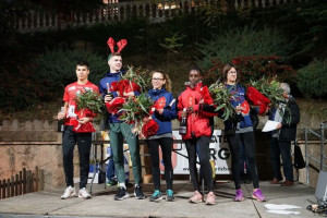 Toni Baños i Núria Cascante triomfen a la Sant Silvestre de Berga