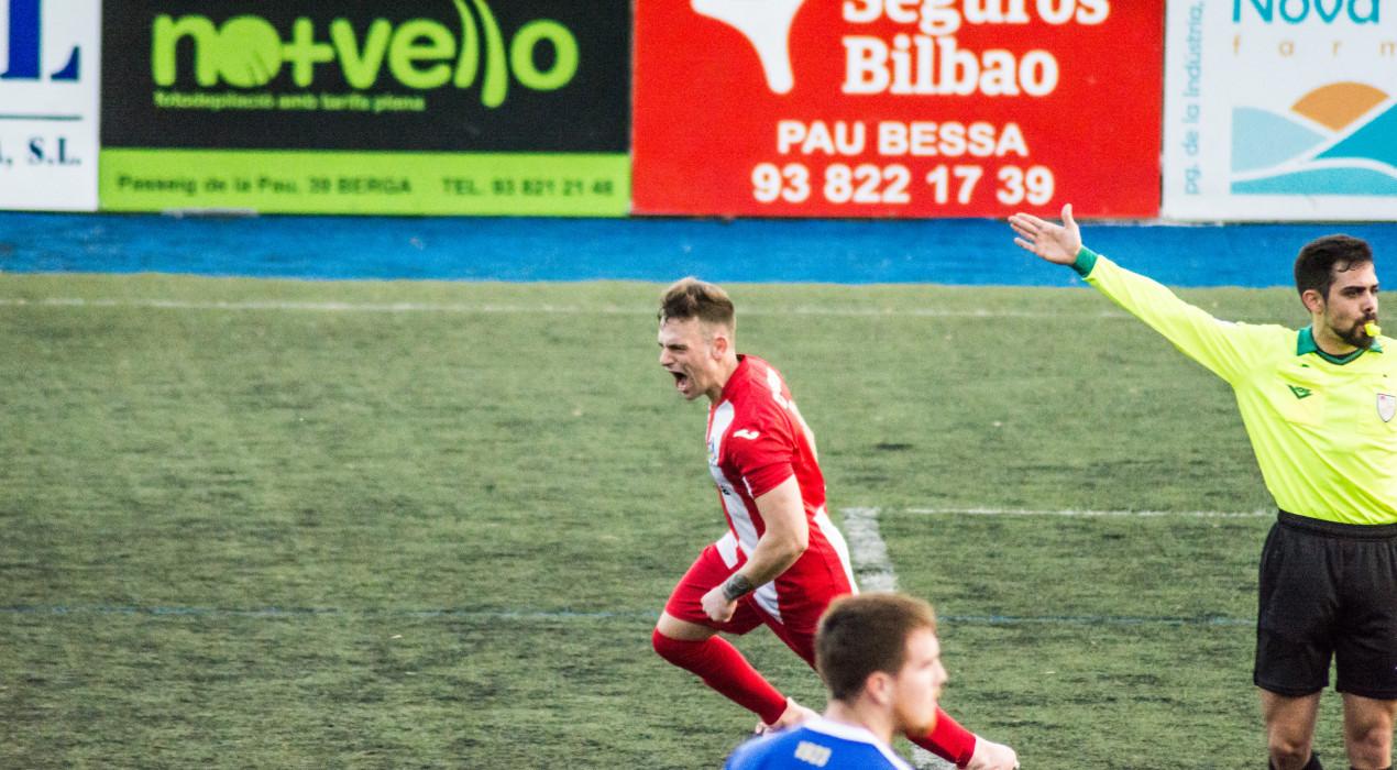 El Berga salva un important punt contra la Gramanet (1-1)