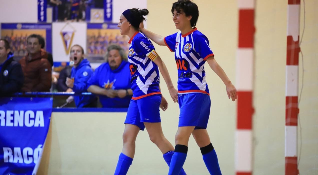 El femení del Casserres goleja un aspirant a l'ascens (4-1)