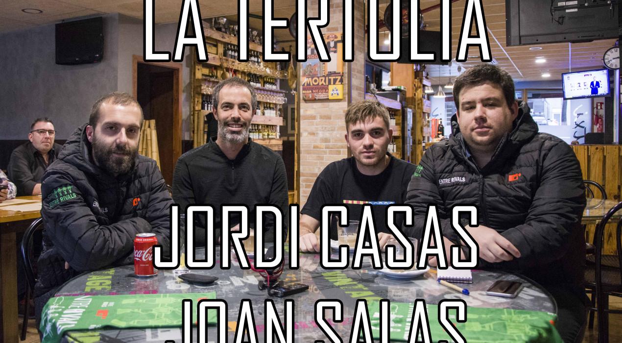 """Jordi Casas i Joan Salas: """"El Montmajor-Casserres és el partit de l'any als dos pobles"""""""
