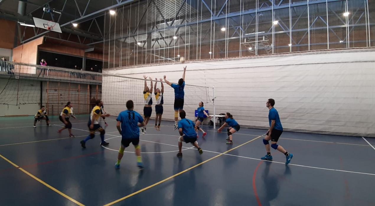 El Vòlei Berga enceta les victòries de la segona volta (1-3)