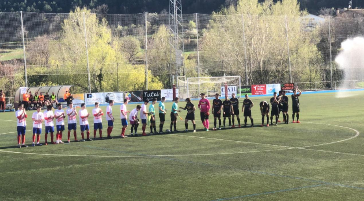 Un efectiu Berga B s'emporta el derbi contra l'Alt Berguedà (2-1)