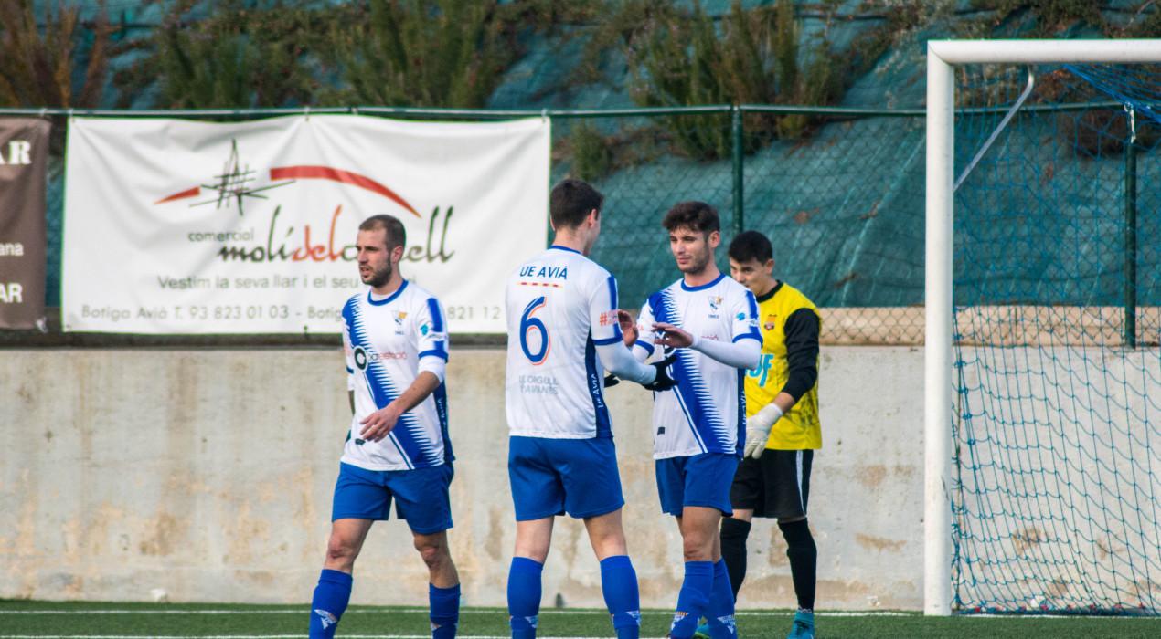 L'Avià B goleja a l'Olvan en un derbi directe (5-2)