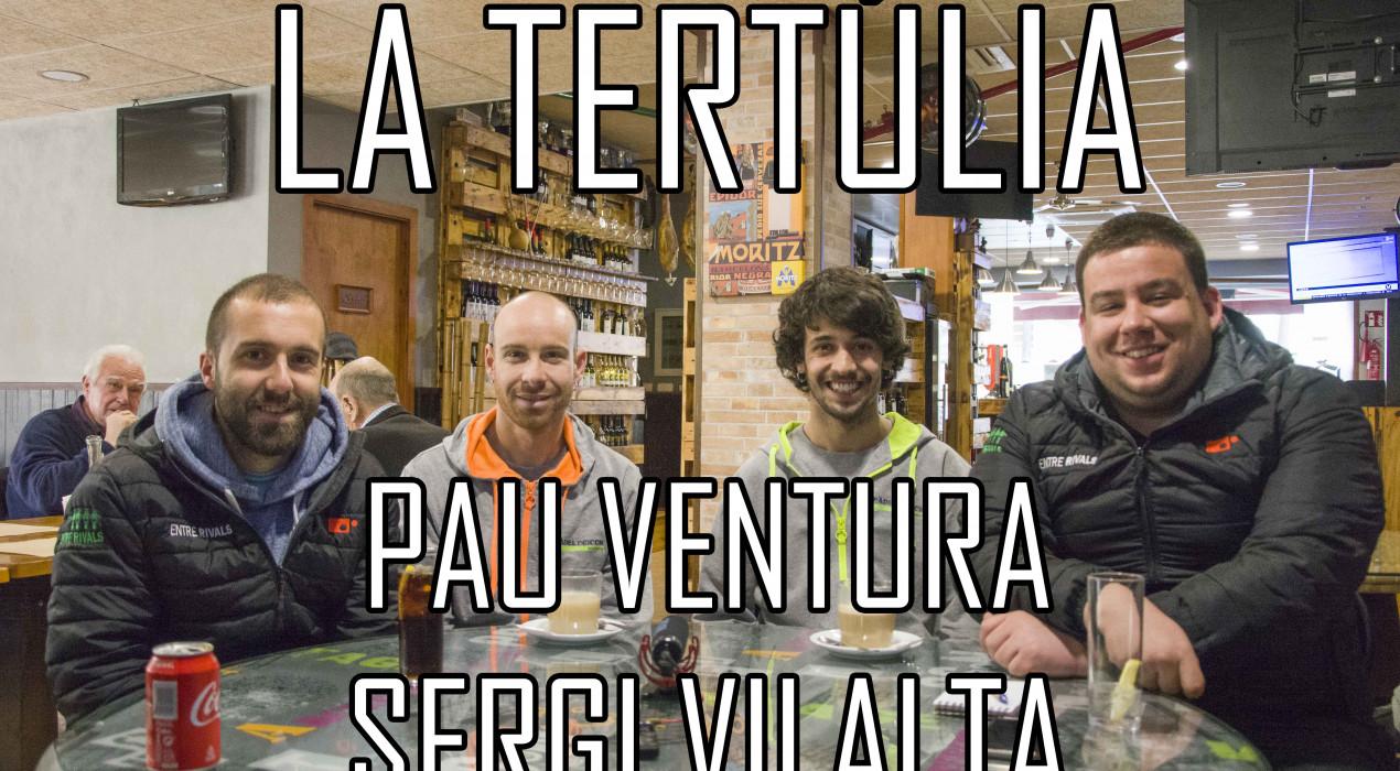 """Pau Ventura i Sergi Vilalta: """"El pàdel és un esport molt social i apte per a tothom"""""""