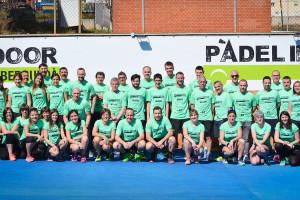 El Pàdel Indoor Berguedà segueix creixent i presenta sis equips federats per a aquesta temporada
