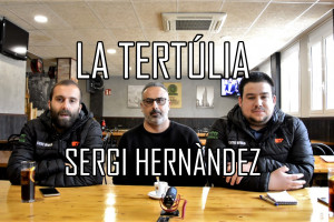 """Sergi Hernàndez: """"L'objectiu de l'any vinent és estar a dalt"""""""