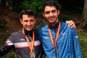 El casserrenc Pau Llorens, campió d'Espanya de curses d'orientació en relleus i mitja distància
