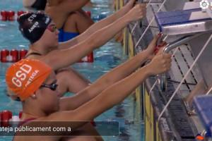 La berguedana Àneu Ferrer es proclama subcampiona d'Espanya Júnior de natació
