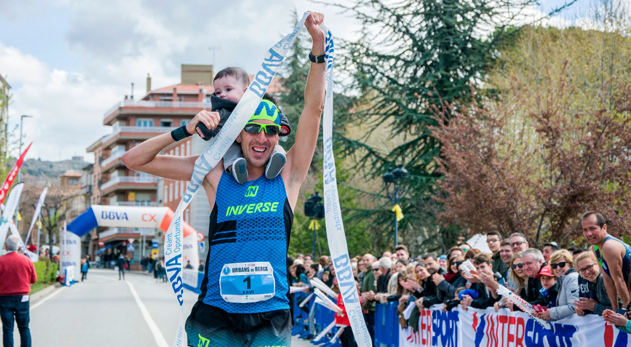 Xavi Tomasa, Anna Garcia, Carles Gómez i Jone Zabaleta guanyen els 5 i 10km urbans de Berga