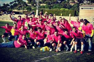 El Gironella tanca l'any de l'ascens amb golejada i celebració (6-0)